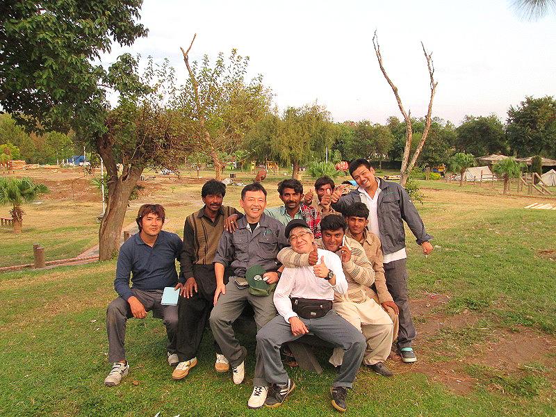 パキスタン遊具